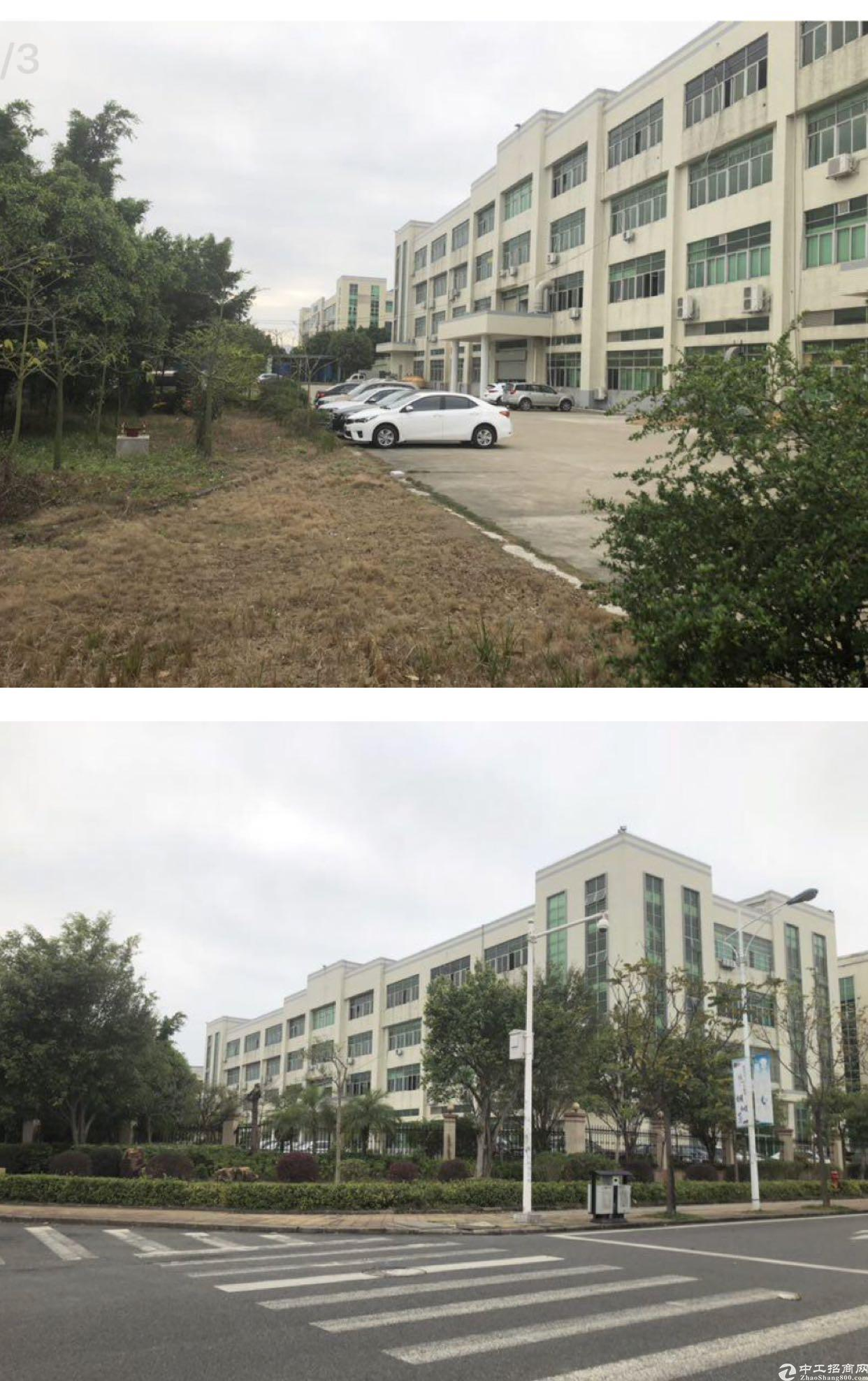 惠州城区高新科技园国有证标准厂房占地30亩1.7万平方出售