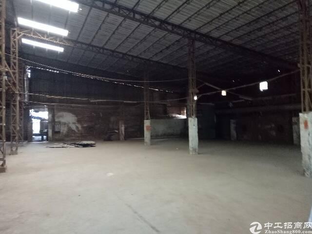 厚街镇双岗村新出原房东一楼家具厂有环评1500平方米出租