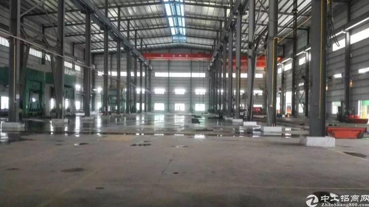 清溪新出重工业单一层钢构厂房,滴水14米