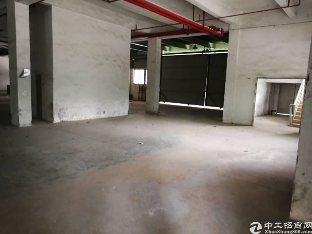 清溪博深高速一公里物流园区分租仓库一万二千平