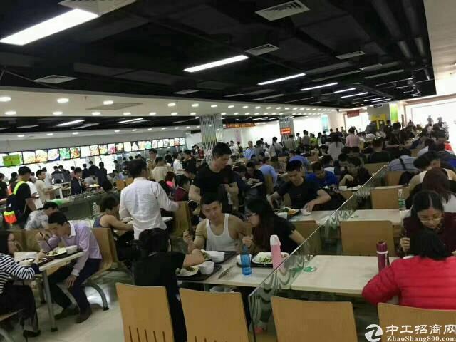 龙华新区新出28万平米工业区招饭堂