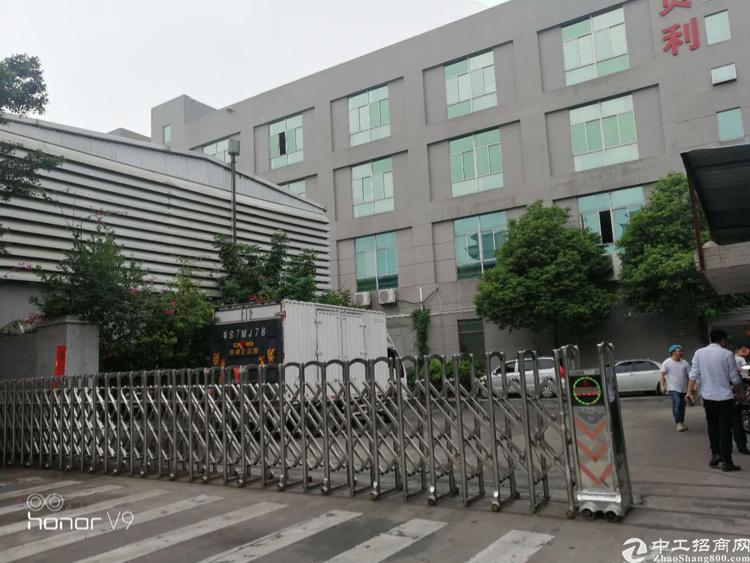 燕罗街道塘下涌新出厂房带装修免转让费1600平方