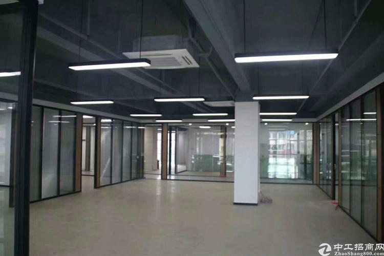 松岗地铁口创意空间全新精装修写字楼出租60平米起大小户型都有