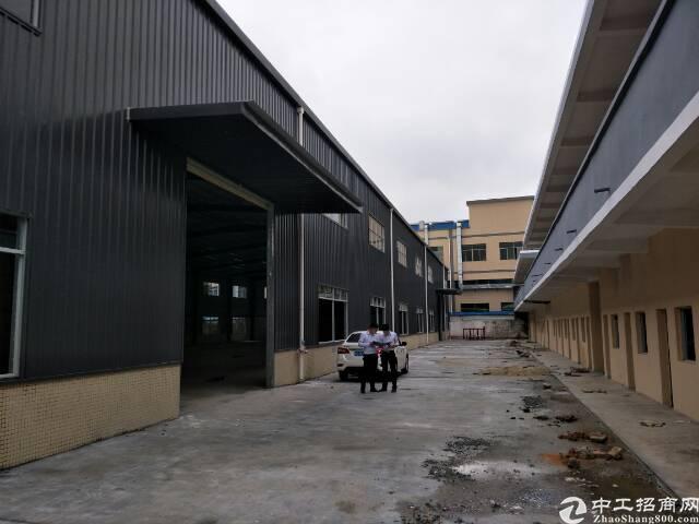黄江镇田心村原房东出租独院钢构厂房2000平米