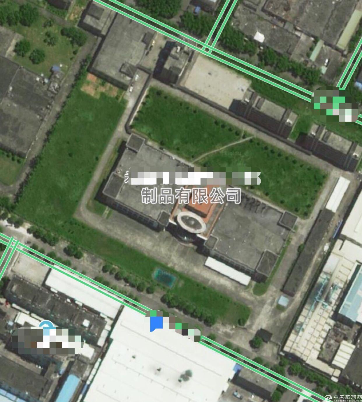 东莞靠深圳5万平方米上市公司红本工业园厂房直接出租