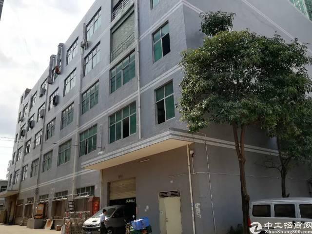 公明高速出口附近新出楼上1600平米带装修办公室厂房出租
