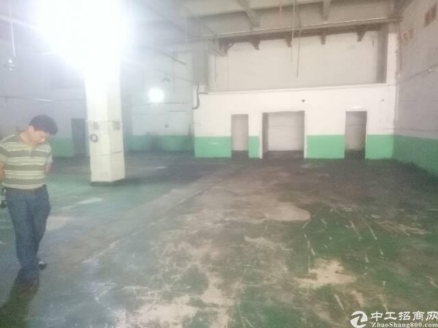 黄江社贝村一楼厂房600平米招租