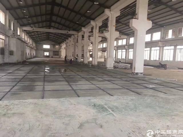 清溪镇原房东厂房出租,5800平米带牛角,8米高!