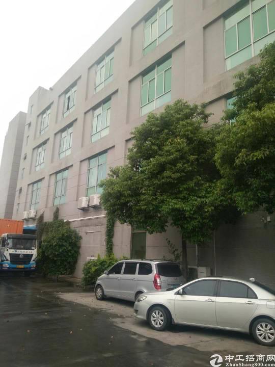 松岗原房东厂房出租,楼上1600平米,带现成办公室装修