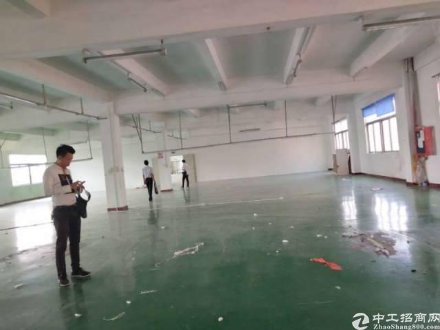 东莞清溪楼上1700平厂房出租,有地平漆带装修