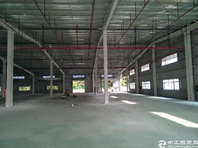 红本横岗标准钢构12000平出租价格30块高度8米