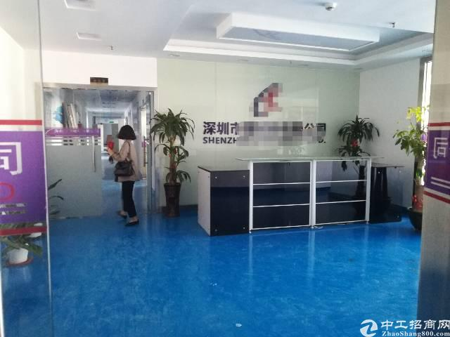 福永凤凰107国道厂房 楼上1600平方 带装修 交通方便