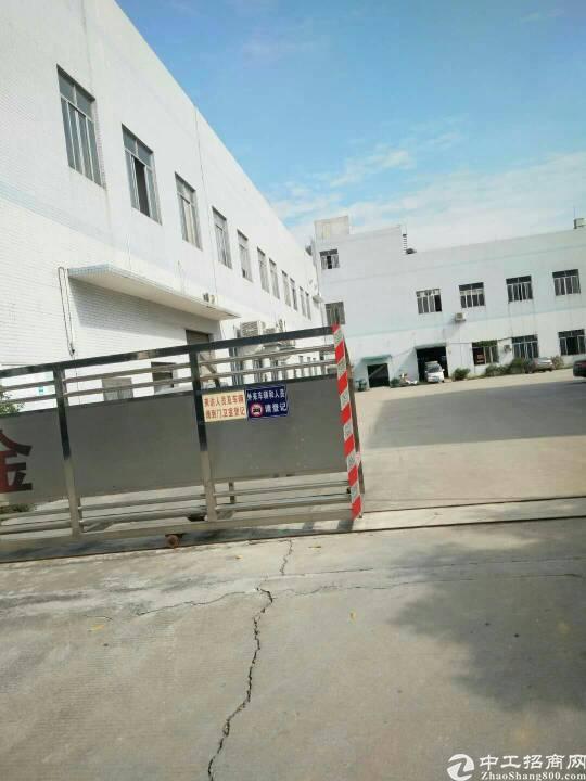 标准电镀厂房8200平方,可分租,证照齐全,入可生产