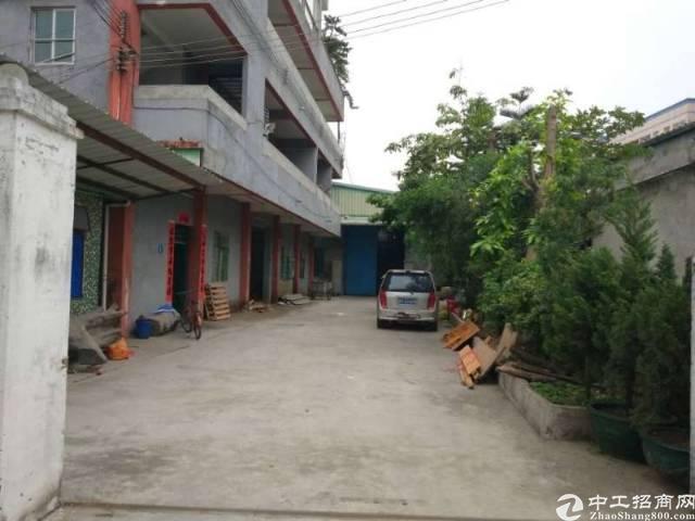 黄江镇高速出口附近单一层独院厂房1800平米火爆招租