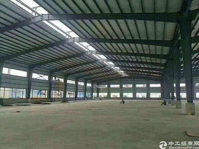 大路边重工业钢构厂房