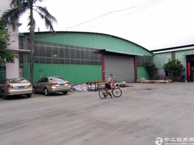 厚街新出钢构厂房办公室宿舍4500平方米招租