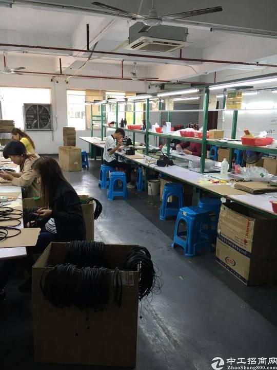 龙华新区大浪标准厂房600平方精装修客户转租