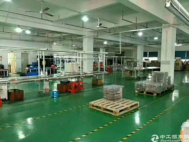 出租 公明楼村精装修厂房整层1400平米-图2