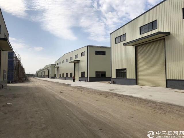 大型成熟工业区滴水10米重工业钢构厂房