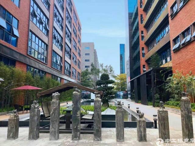 民治商圈中心花园式精装落地窗甲级写字楼