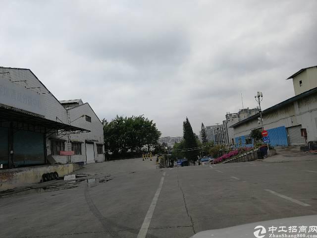 龙华清湖梅观高速出口新出一楼物流仓库12000平,带平台