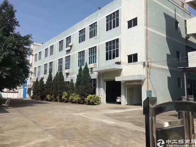 沙井新桥高速出口附近独院三层4800平方招租