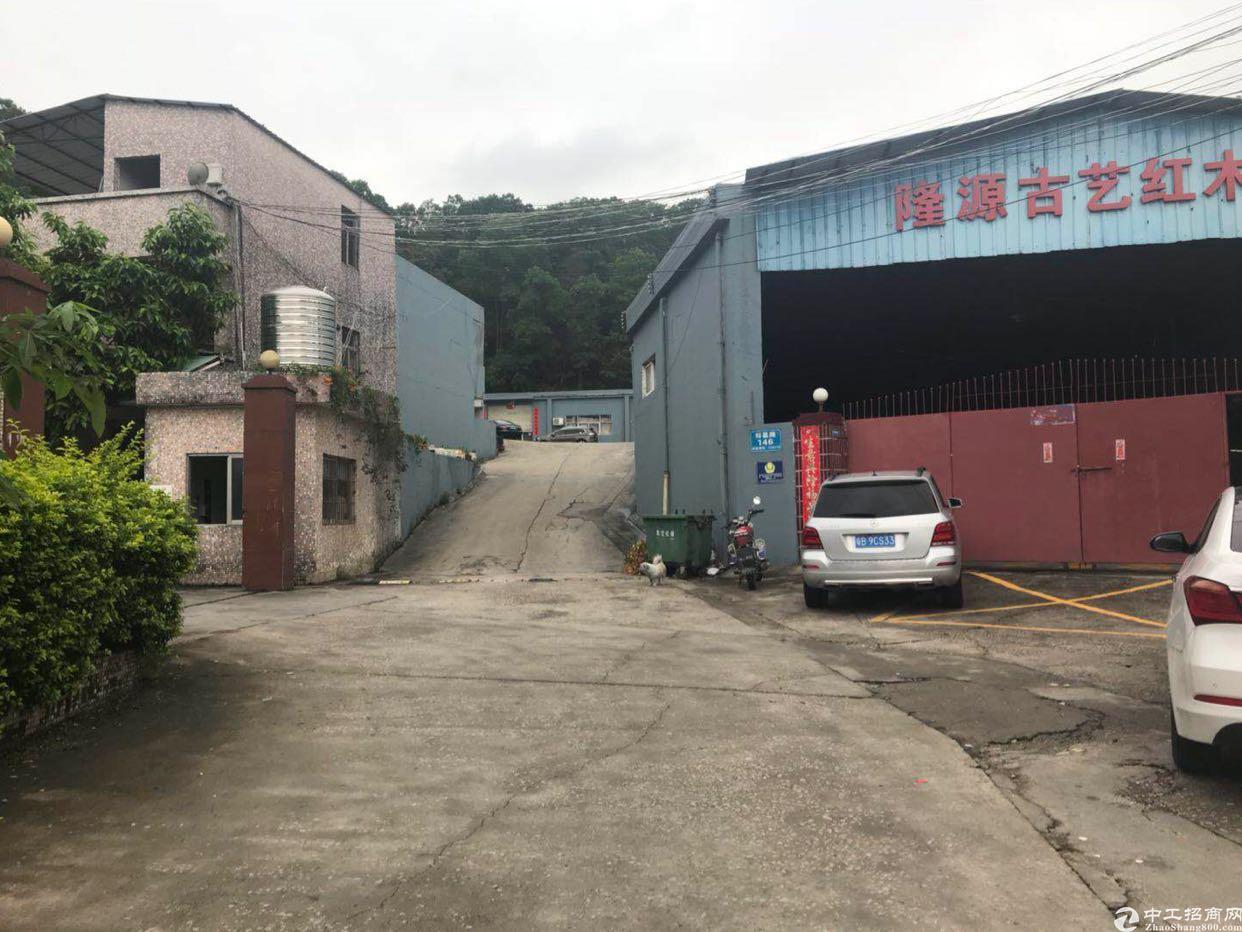 观澜原房东独院2100平钢构厂房招租