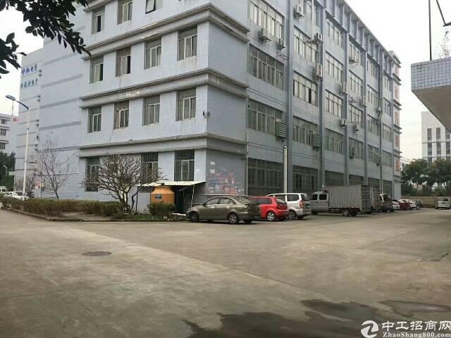 光明新区独门独院12000平方带红,合同8年,厂房在主干道边