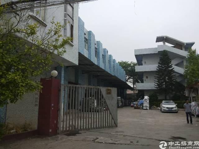 虎门独门独院厂房,厂房4300方,宿舍1000,租金17可谈