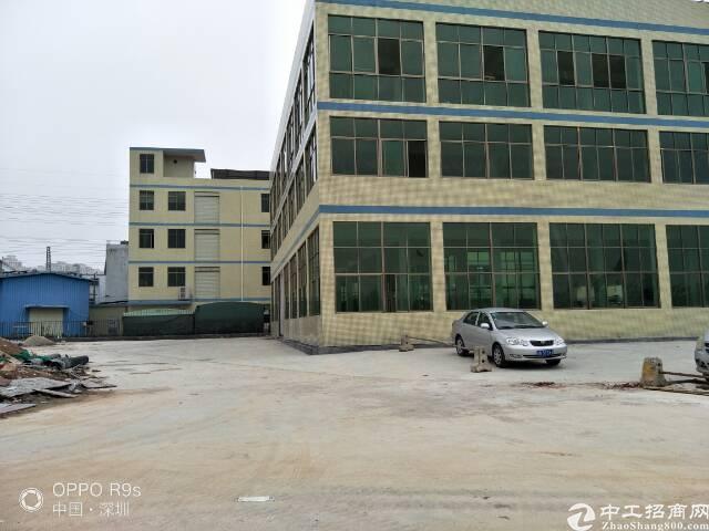 (原房东)松岗松福大道边新出三层独栋1200平厂房