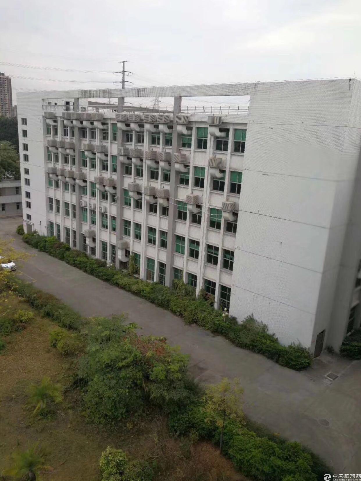 福永镇独门独院厂房1~5层5600平厂房招租