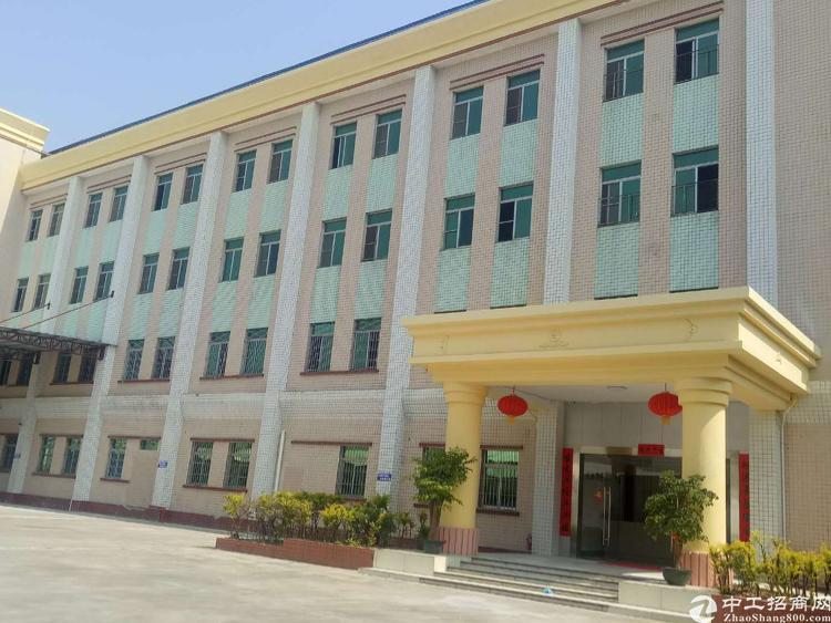 清溪近凤岗标准厂房二楼1480平方低价急租