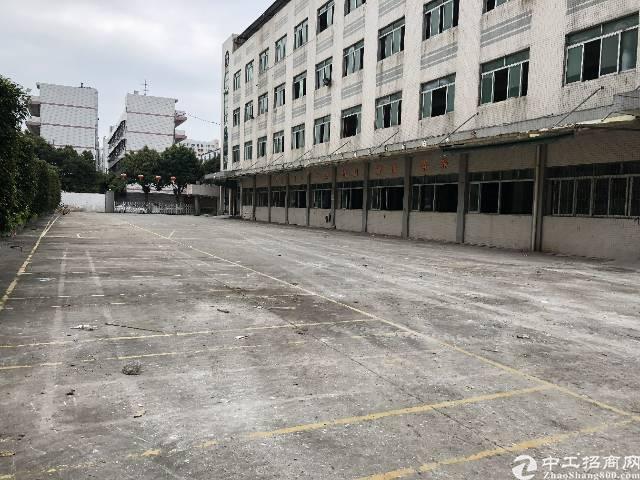 沙井新桥广深高速出口附近市场11000平方独院厂房出租招租