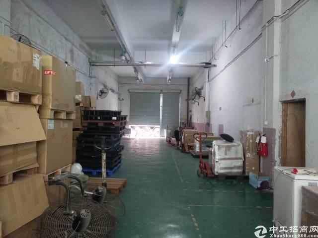 福永宝安大道旁边一楼300平厂房招租