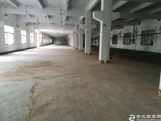 公明高速出口新出一楼重工业厂房2000平米