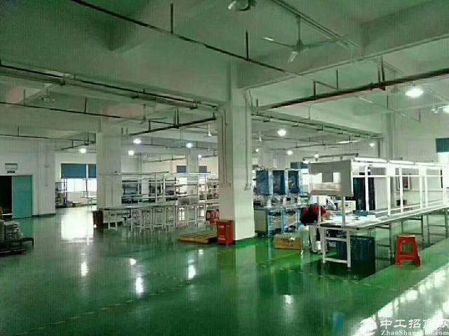 出租 公明楼村精装修厂房整层1400平米