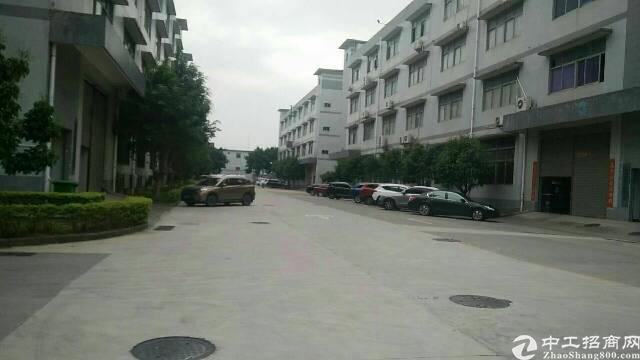 松岗燕川原房东厂房4楼1150平方无公摊