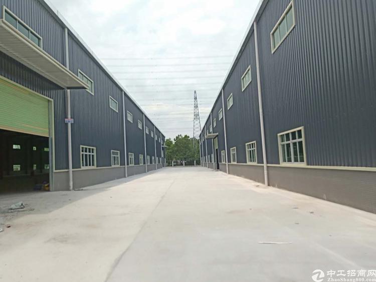 全新独门独院12米高钢构厂房共约24000平