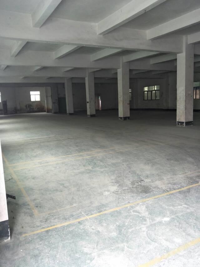 东莞靠深圳出原房东标准厂房2楼2000平米