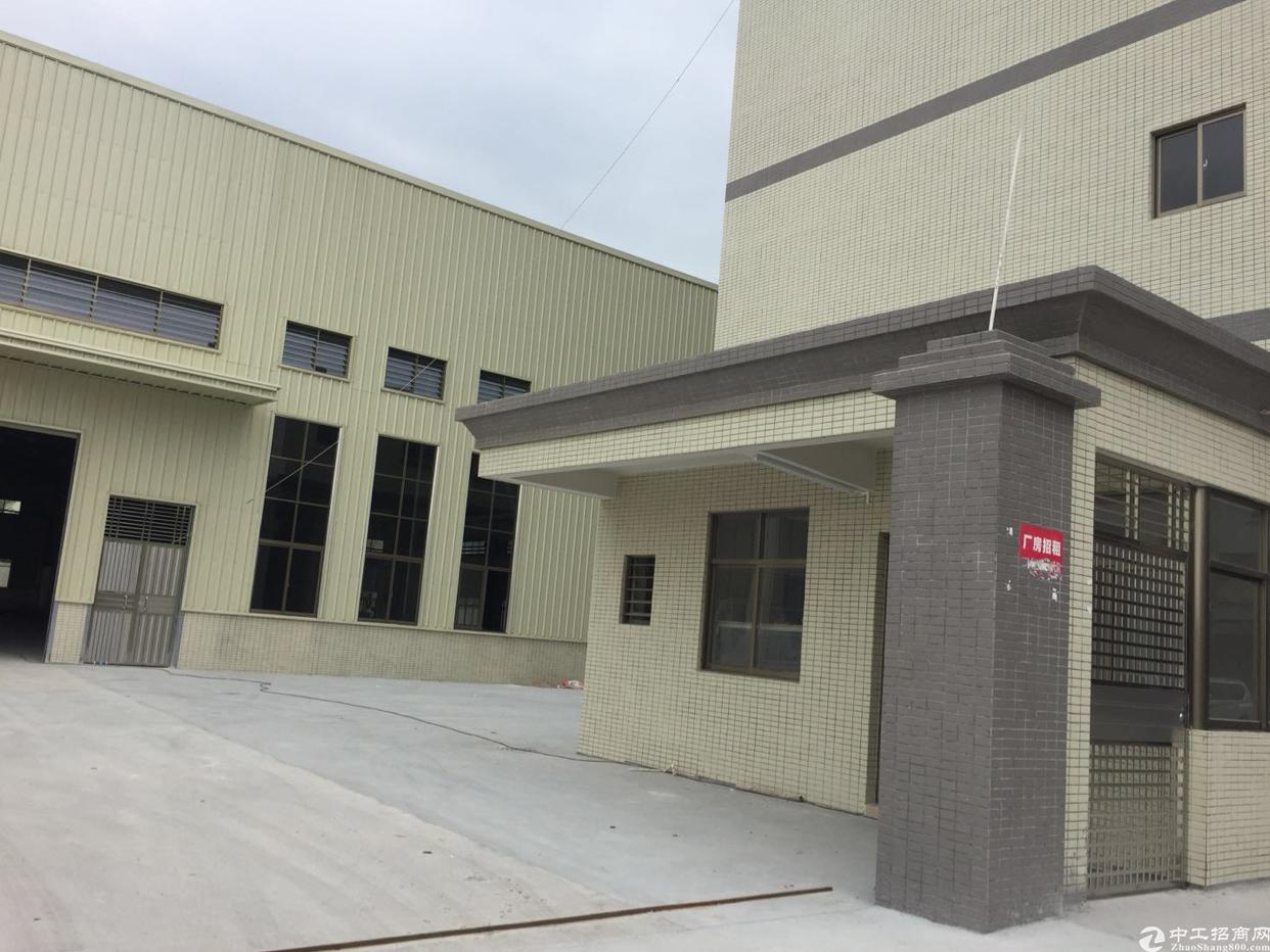 横沥镇独院钢构厂房6000平米出租