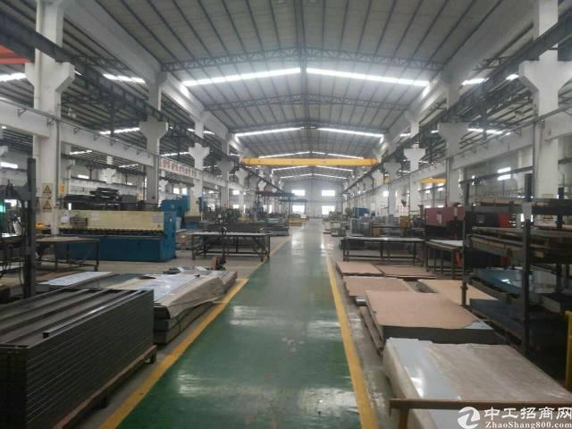 松岗大田洋附近新出一楼重工业厂房1800平米