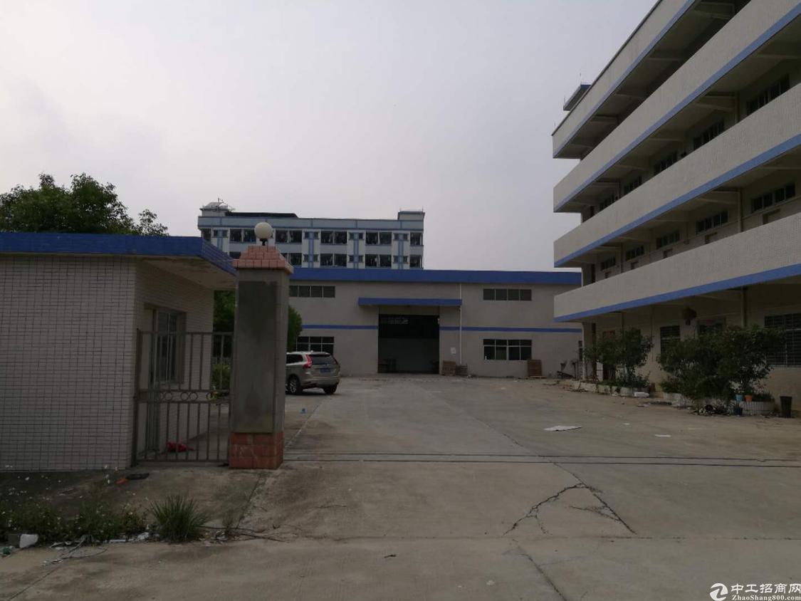 黄江镇靠近大朗新出4748平独院单一层,滴水9米带牛角