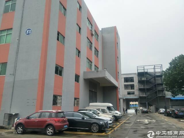 福永宝安大道边立新湖旁楼上800平米精装修厂房出租
