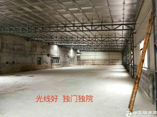 刚出单一层仓库加工打包装厂房