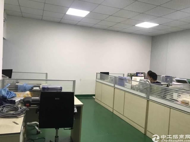 观澜桂花附近工业园新出来楼上带精装修500平