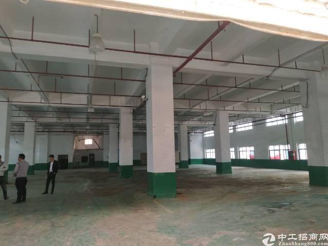 松岗江边新出一楼重工业厂房面积2200平米