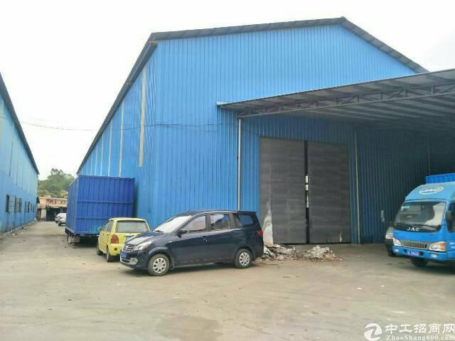 石湾新出原房东单一层钢构厂房可做仓库五金机械