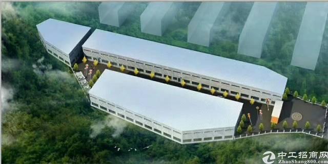 厚街全新13米滴水高重型钢构带牛角位厂房10000平米