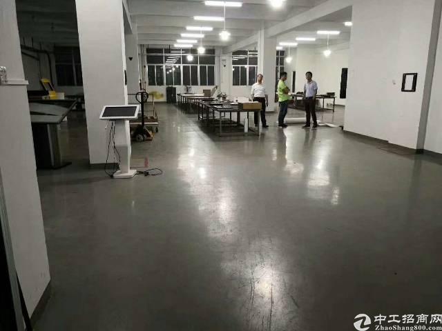 光明东坑长丰工业区2楼680平方 精装修无转让费-图2