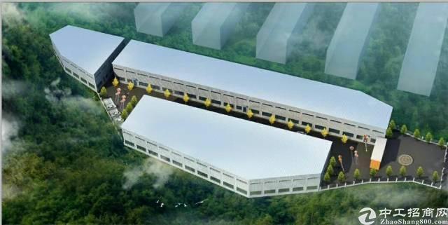 厚街新出13米高钢构厂房9000平方米招租可分租